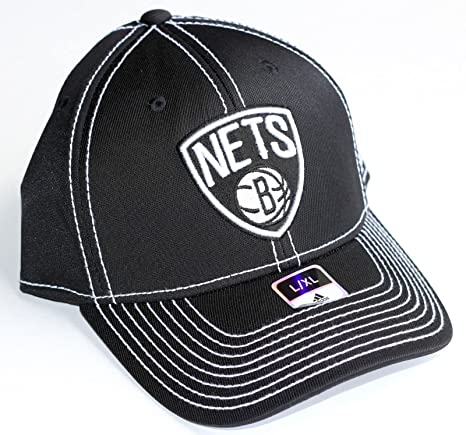 competitive price 53021 70f6a ... clearance image unavailable. image not available for. color adidas nba  brooklyn nets hat 4c0a9