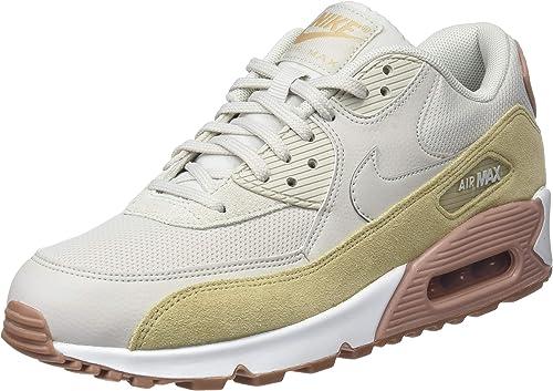 Nike Air MAX 90, Zapatillas de Gimnasia para Mujer