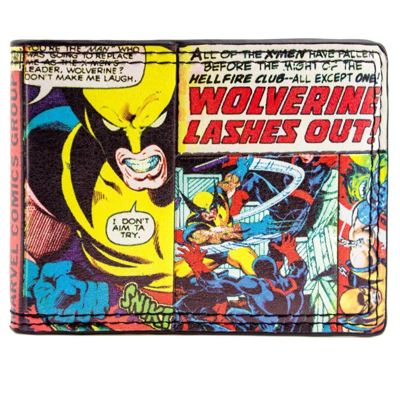 Cartera de Marvel X-men Wolverine Multicolor 27533