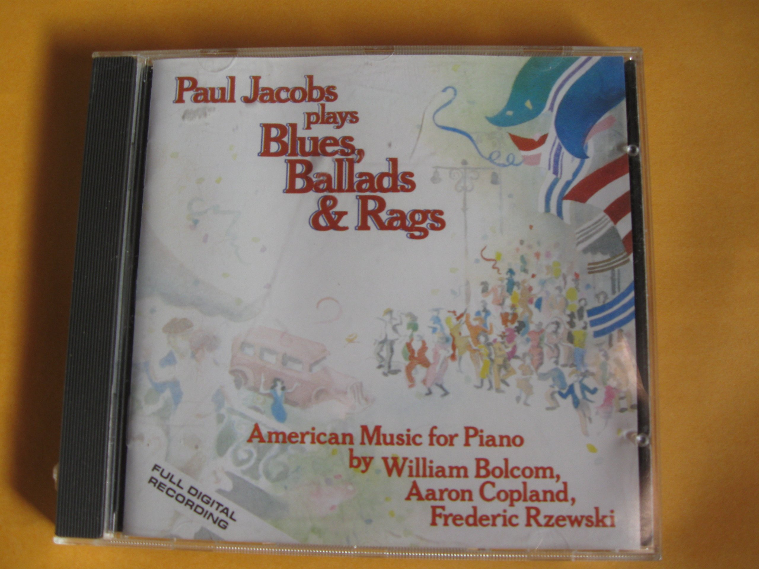 Paul Jacobs Plays Blues, Ballads & Rags by Nonesuch Digital
