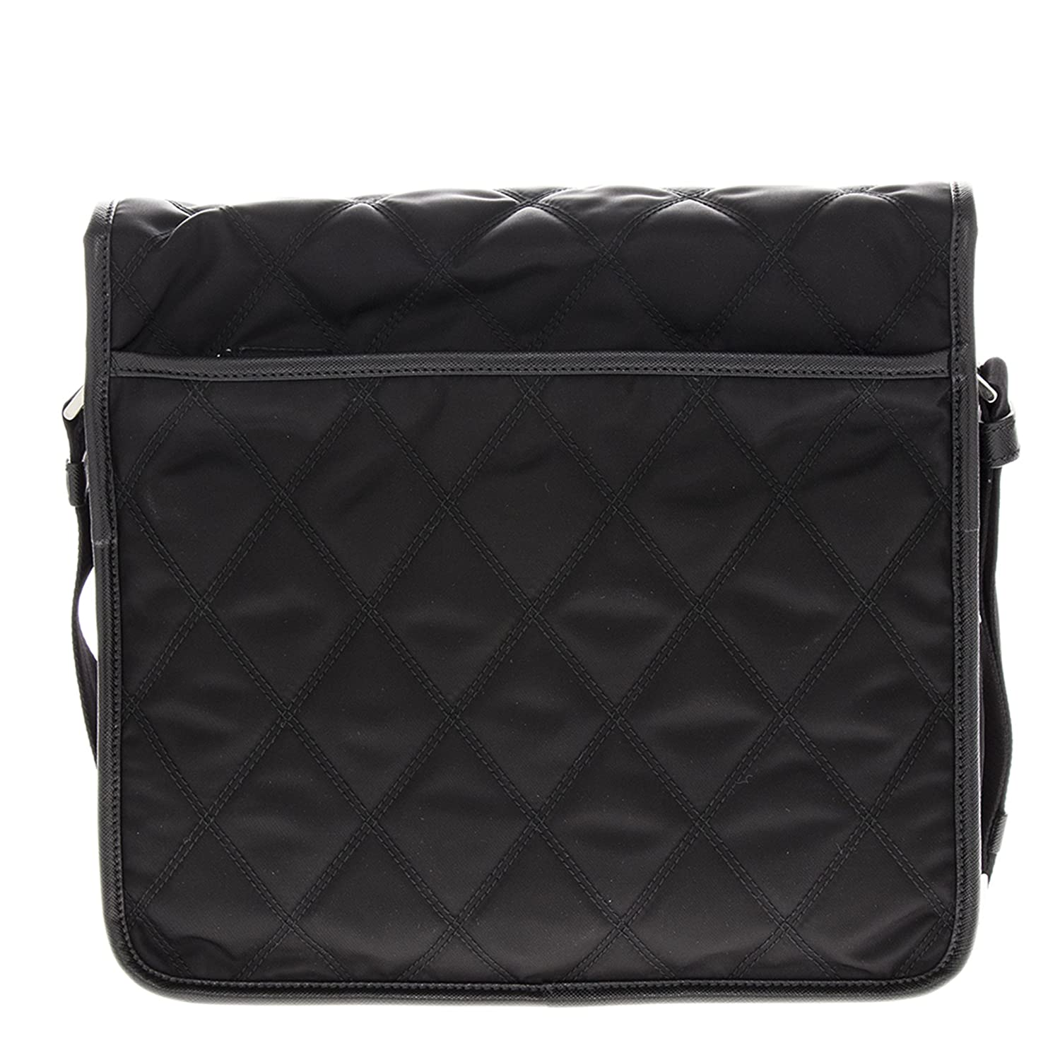 571be1f0903a Amazon.com  Prada Quilted Nylon Messenger Black  Shoes