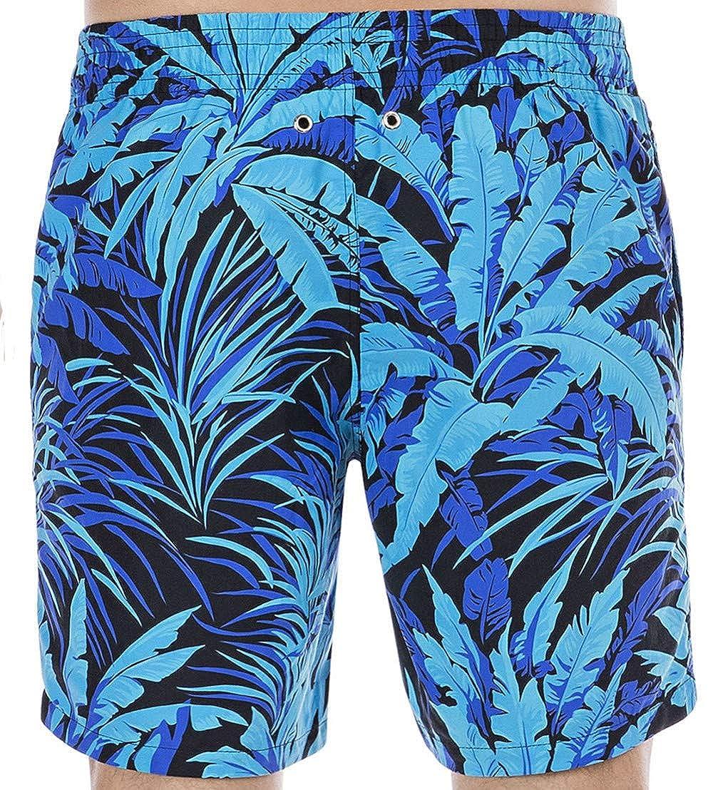 HOM Palmier Beach Boxer, Pantalones Cortos de baño premamá para Hombre