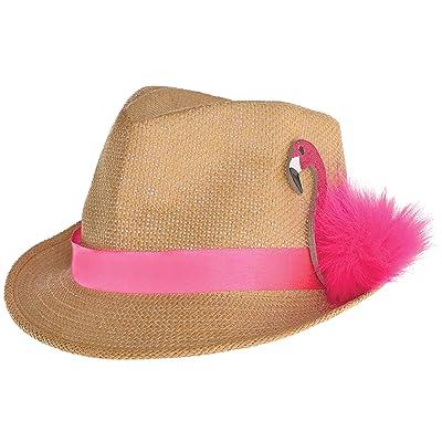Amscan 3900056 Fieltro Sombrero Flamingo, multicolor: Juguetes y juegos