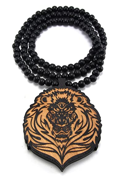 big good necklace i g goodwood notorious biggie b smalls wood