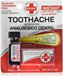 Red Cross Toothache Complete Medication Kit 0.12 oz (Pack of 2)