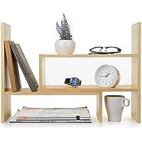 Tarjeta de sobremesa de escritorio Organizador Estante / Clasificador de correo / Bolígrafos y plumas / Almacenamiento de carpetas