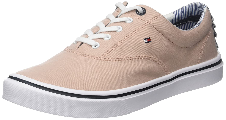Tommy Hilfiger Women s Textile Light Weight Sneaker Low-Top  Amazon.co.uk   Shoes   Bags d4c98762a42