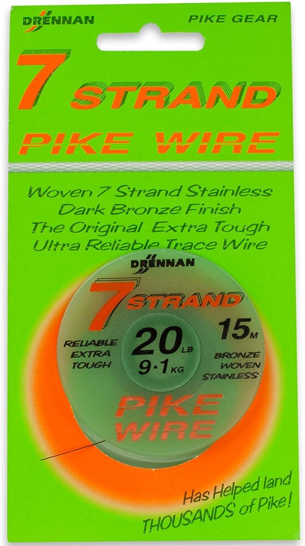 Drennan Wire Tracer Seven 7 Strand Wire Bait Trace 20lb