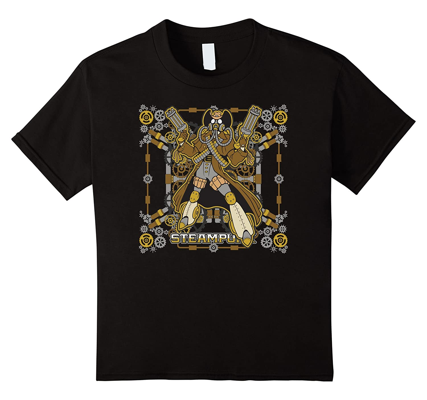 Steampunk Mechanical Cowboy T-shirt