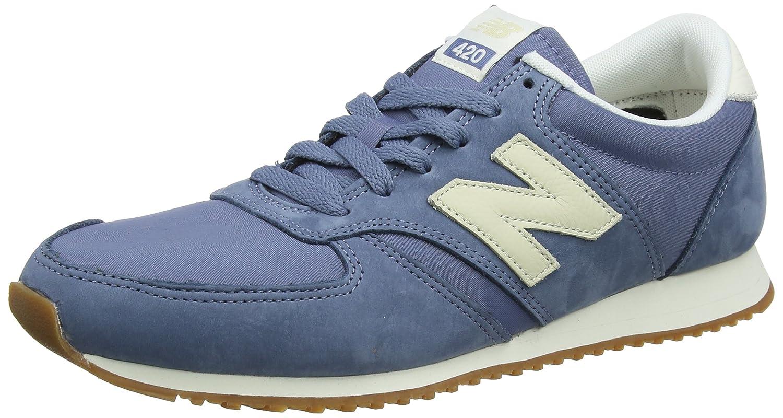 New Balance 420, scarpe da ginnastica Unisex – Adulto Blu (Navy grigio) | Menu elegante e robusto  | Sig/Sig Ra Scarpa