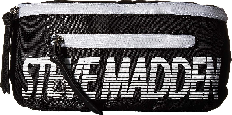 Steve Madden レディース スポーツファニー B07HDD75PR ブラック