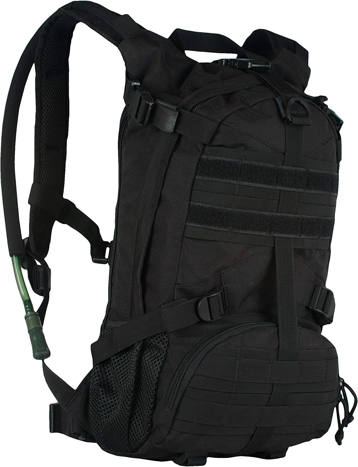 Fox Outdoor Products Elite Excursionary Hydration Pack, Black