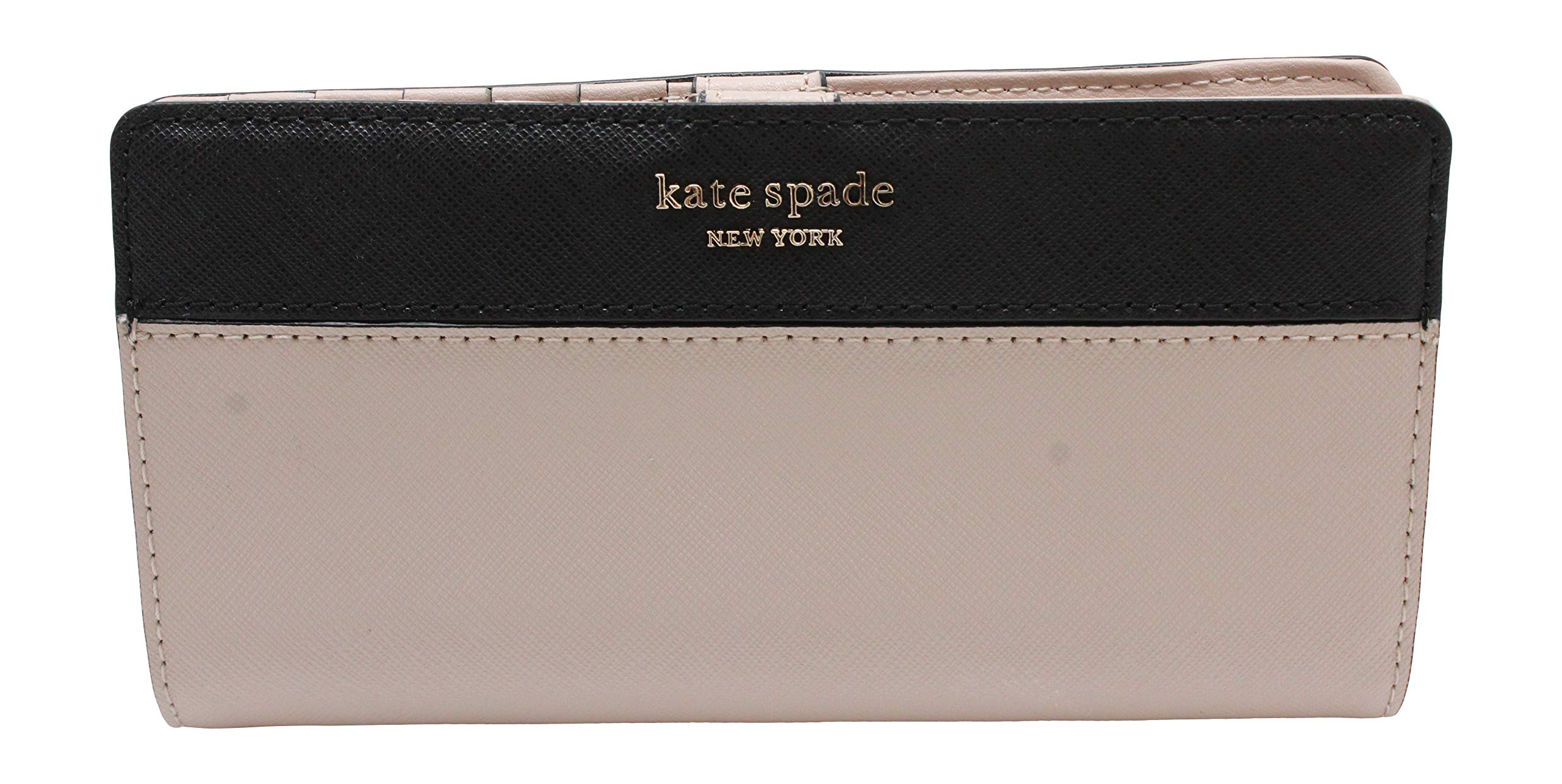 Kate Spade New York Wellesley Printed Stacy (Warm Beige/Black)