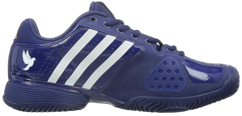 adidas Novak Pro Herren Tennis Schuhe (BlauWeiß) – EU 41 1