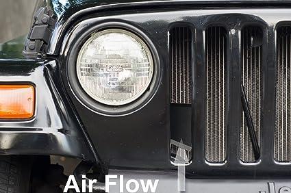 Perfect AVT Intake Scoop 1997 2006 Jeep Wrangler TJ 2.5 / 4.0 R + Horsepower /