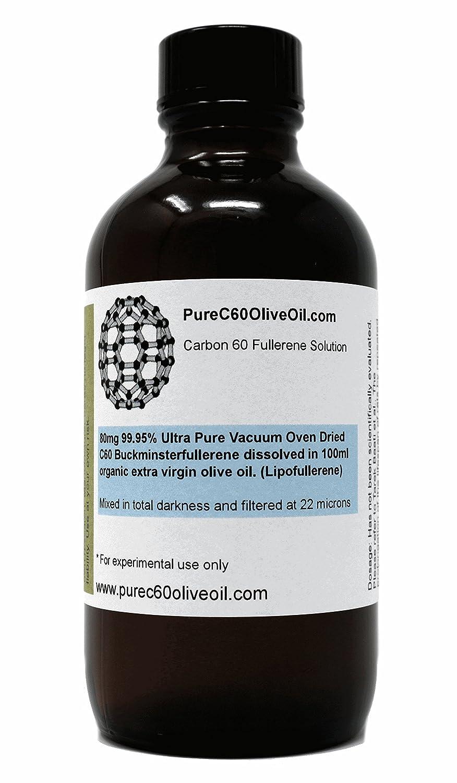 C60 aceite de oliva – 99,95% Ultra Pure vacío horno Dried C60 80 mg/100ml – mismo día prioridad envío …