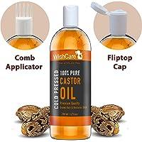 Wishcare Premium Cold Pressed Castor Oil For Hair & Skin (200Ml)