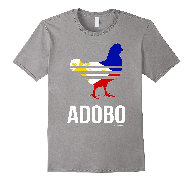 Chicken adobo shirt funny philippines pinoy flag shirt-BN