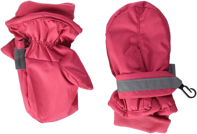 Sterntaler Fäustel für Kinder, Handschuhe, Wasserabweisend und reflektierend, Rot 4301540