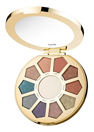Tarte Make Believe In Yourself Eye Cheek Palette with 10 Eyeshadows Highlighter