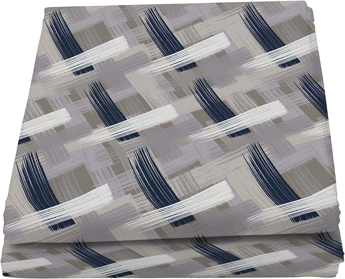 Italian Bed Linen Fantasy Flor Telo Copritutto Stampato 1 Posto Multicolore Microfibra 170 x 260 cm