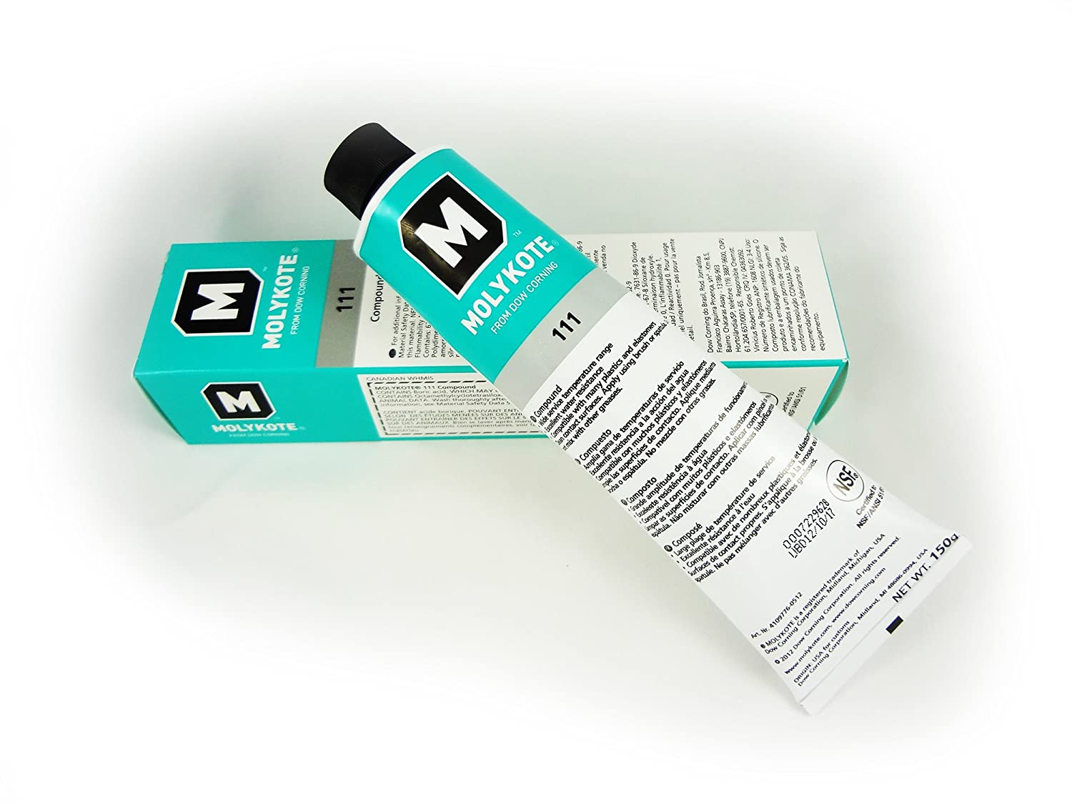 Dow Corning 111 O-Ring Silicone Lubricant (5.3 oz. Tube)