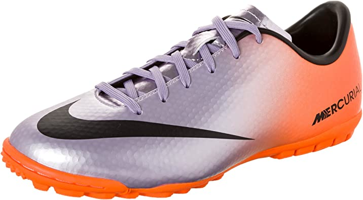 Montañas climáticas Recepción oro  Amazon.com | Nike Mercurial Victory IV TF Junior Turf Soccer Shoes | Soccer