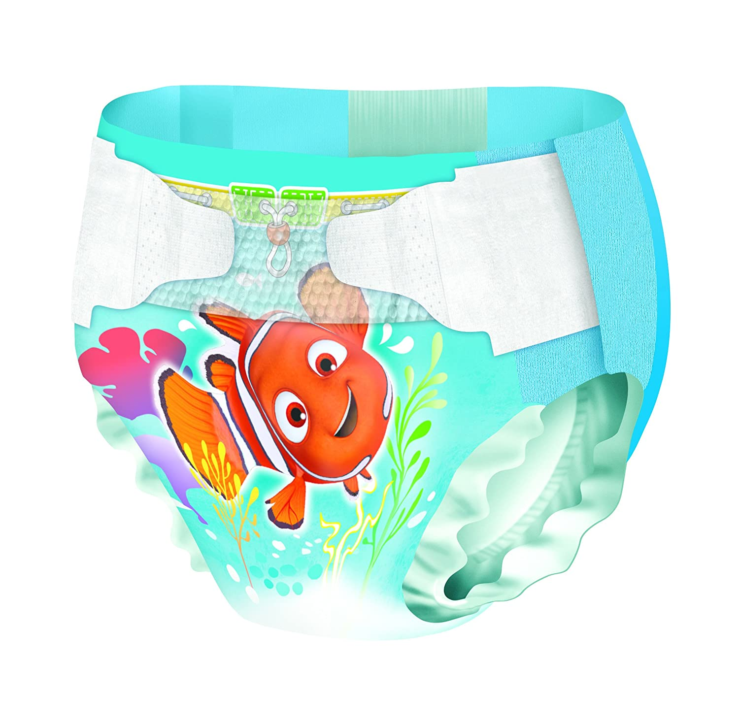 Huggies Little Swimmers Nappies - Size 2-3, 2 x Packs of 12 (24 Nappies) Kimberly-Clark 2183411