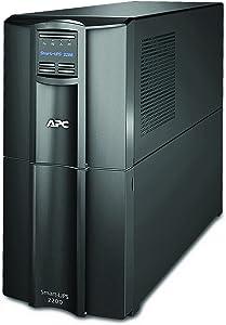 APC 2200VA Smart UPS with SmartConnect, SMT2200C Sinewave UPS Battery Backup, AVR, 120V, Line Interactive Uninterruptible Power Supply