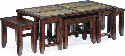 Magnussen Allister Wood Rectangular Cocktail Table