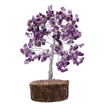 Harmonize Amethyst Stone Tree Reiki Healing Kristall Gems Spiritual ...
