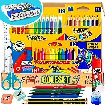 Coleset Pack Material Escolar Primaria Set Vuelta al Cole Kit ...