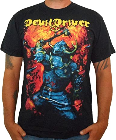 OFFICIAL Devildriver Warrior T-shirt NEW Licensed Band Merch ALL SIZES