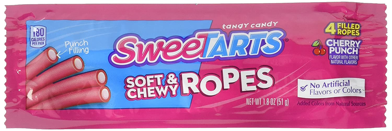 Wonka Kazoozles Rope Cherry Punch 24 pack (1.8 oz per pack)