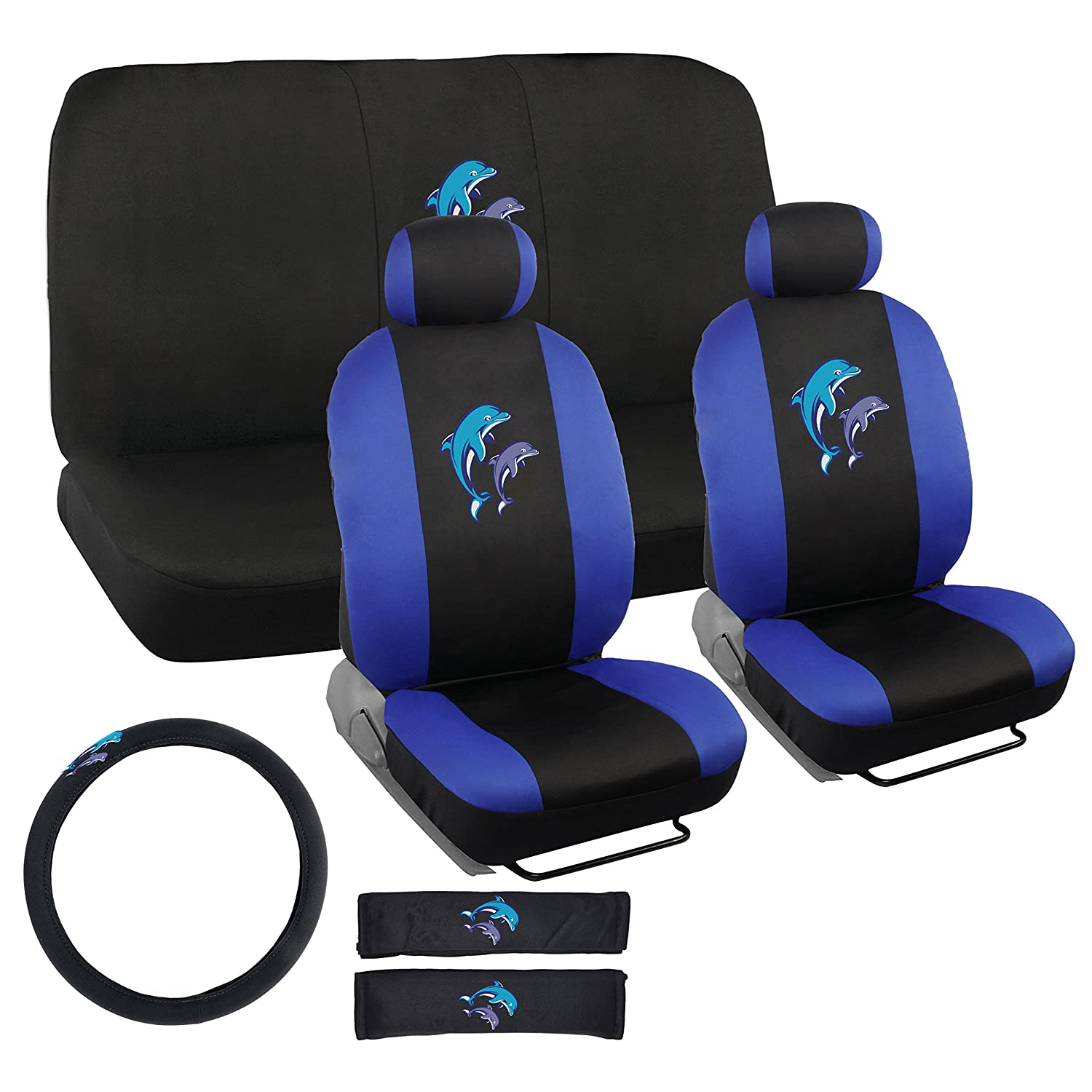 Amazon.com: BDK Dolphins Design Seat Covers for Car, SUV - Universal