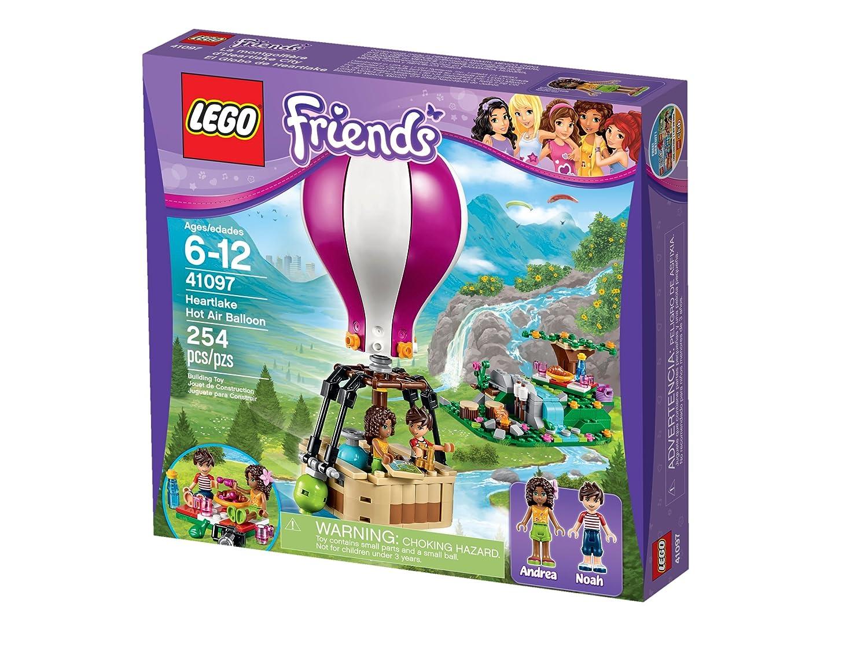 amazon com lego friends 41097 heartlake air balloon toys u0026 games