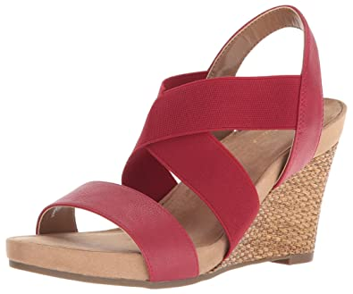 50988ad6b78 Aerosoles A2 Women s Lotus Plush Wedge Sandal