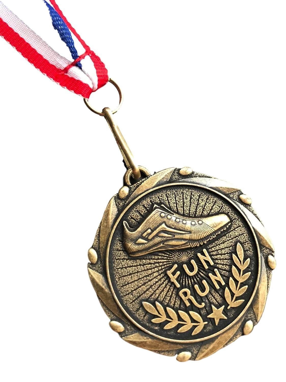 Medalla Personalizada de Atletismo con Lazo para Regalar con emblemas emblems gifts