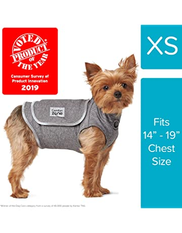 b22c93ca Comfort Zone Calming Vests for Small - Medium Dogs, for Thunder & Anxiety