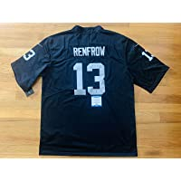 $169 » Hunter Renfrow Signed Jersey - Black Bas Witness Coa #w39074 - Beckett Authentication - Autographed NFL Jerseys