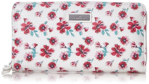 Acc Rinapu Flower Womens Wallet White (Weiss) 2.5x10.5x20 cm (B x H x T) Tom Tailor wtMHYJrF