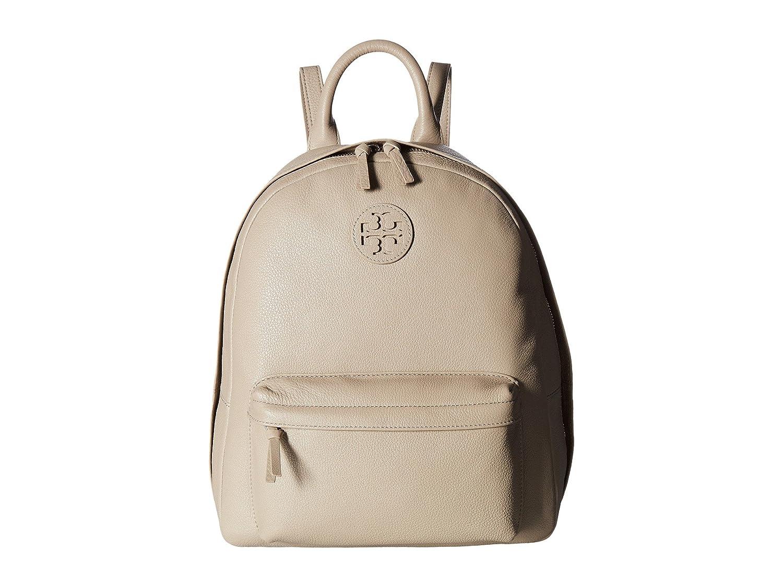 [トリーバーチ] Tory Burch レディース Leather Backpack バックパック [並行輸入品] B01N77WR3Z French Gray