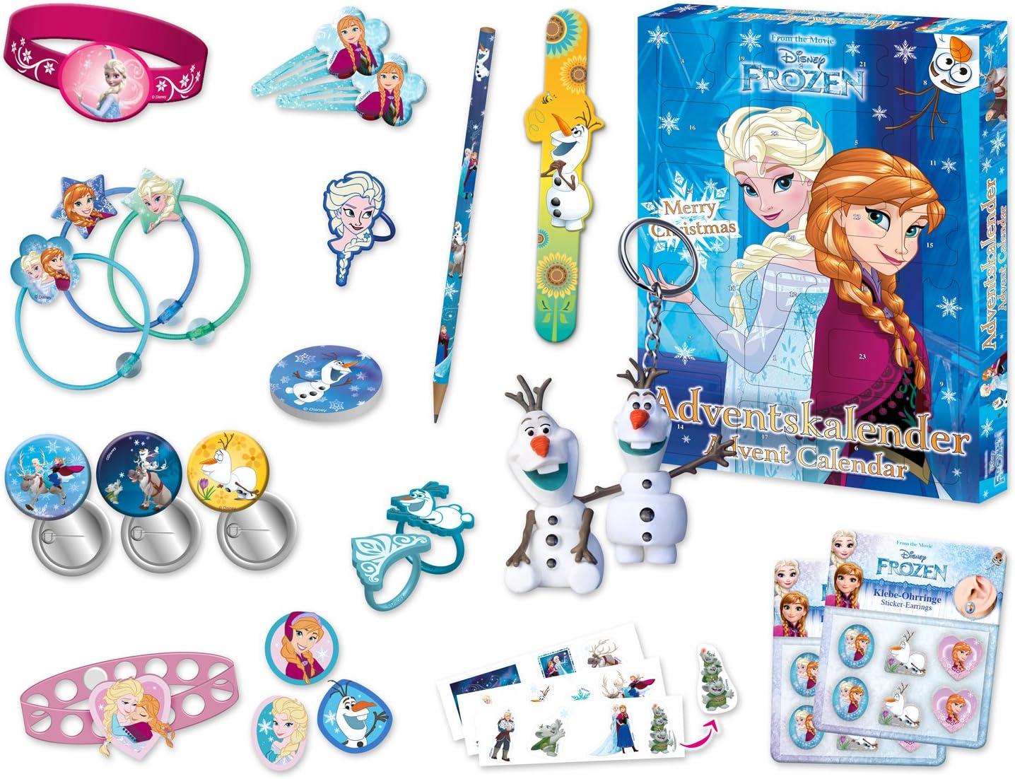 Inhalt Craze Frozen Adventskalender 2016
