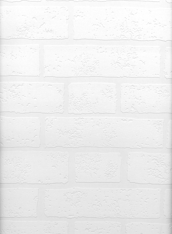 Brewster Belden Brick Texture Paintable Wallpaper Paintable 497-99423