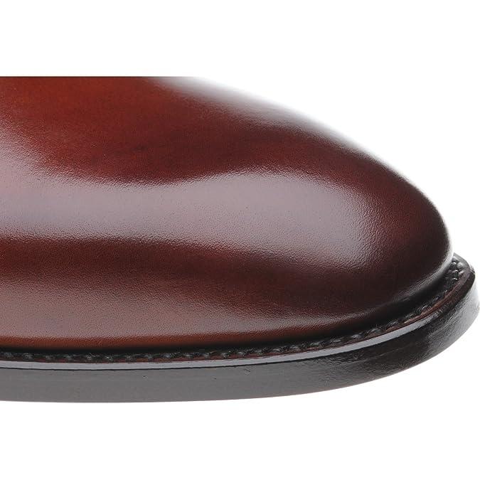 Herring Shakespeare doble monje zapatos en tan Calf, color Marrón, talla 42.5