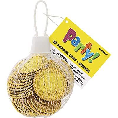 Unique 74030 party favors, Gold: Childrens Pinatas: Kitchen & Dining