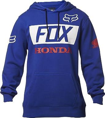Fox Honda Basic - Sudadera con Capucha para Hombre Azul Azul XXL: Amazon.es: Ropa y accesorios