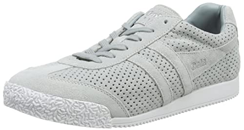 Gola Harrier Squared Pale Grey, Zapatillas para Mujer, Gris Light, 37 EU: Amazon.es: Zapatos y complementos