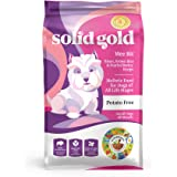 Solid Gold - Wee Bit With Real Bison, Brown Rice & Pearled Barley - Potato Free - Fiber Rich with Probiotic Support - Holistic Dry Dog Food for Small Dogs of All Life Stages
