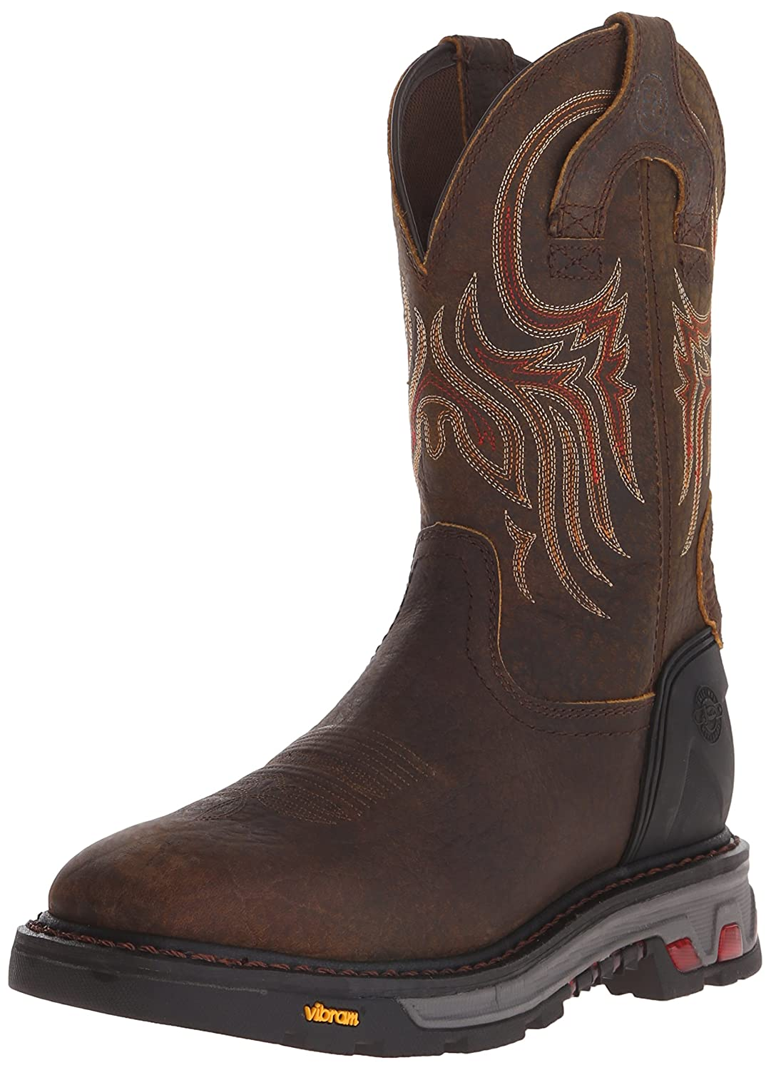 Justin Boots Men's Commander X-5 WK2110 Work Boots B00V4XOGT8 13 2E US|Tumbled Mahogany Brown Buffalo